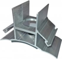 Dome Solar Fibro-Solar Rail Support 1