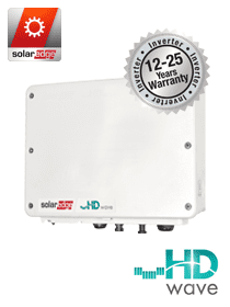 SolarEdge 2200W Single Phase HD Wave Inverter NO DISPLAY