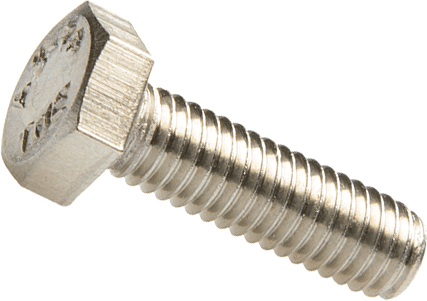 Click-Fit M6 x 20 stainless steel bolt