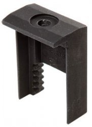 Click-Fit End Clamp CFB - Black