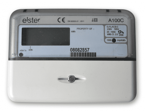 Elster Single Phase Total Generation Meter, 100A (with 1000 Pulse/kWh)
