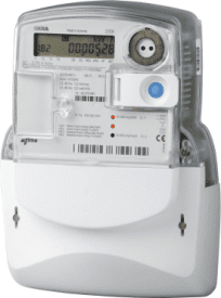 Iskra MIS 3 Phase Total Generation Meter, 120A (Direct Connected)