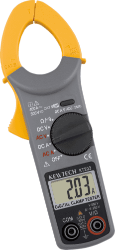 Kewtech Digital 400 AC/DC Clamp Meter