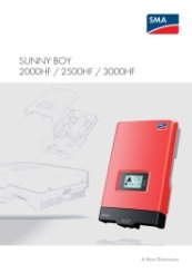 SunnyBoy HF Catalogue