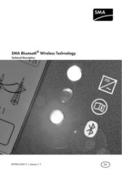 Sunny Webbox with Bluetooth Technical Description Book 2