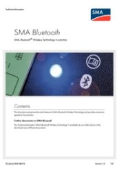 SMA Bluetooth Technology