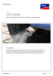 SMA CO2 Factor Calculator