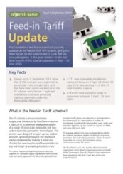 Ofgem FIT Update Issue 1