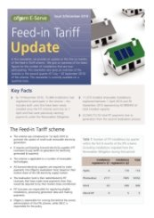 Ofgem FIT Update Issue 2