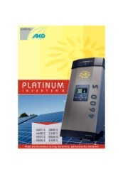 Platinum Inverters Brochure