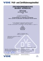 M215 Microinverter VDE License (Part 2)