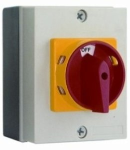 Europa Components AC Isolator 40A 3 Pole