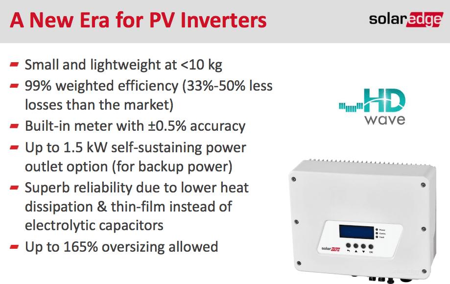 Solaredge 3000w 1ph Inverter Hd Wave